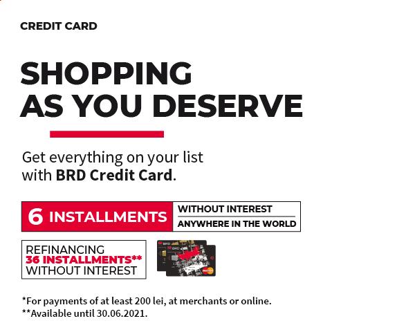 BRD Credit Card