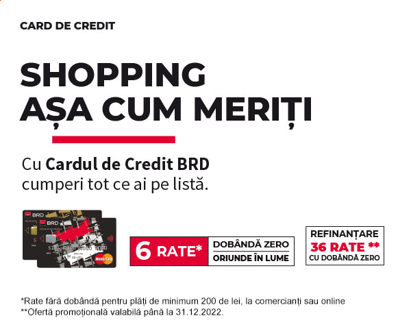 Card de Credit BRD