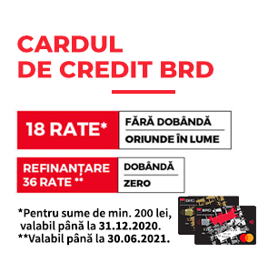 Card de Credit BRD