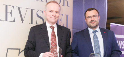 """""""Banker of the Year"""" 2017 Award, Won by Francois Bloch and Didier Colin"""