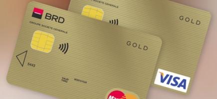 Mastercard/Visa Gold