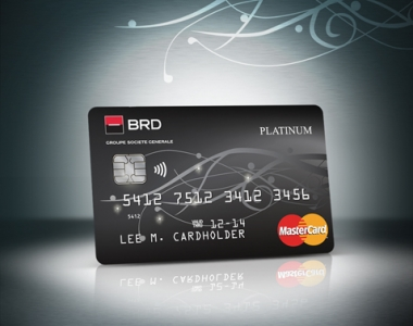 MasterCard Platinum - Slider RO