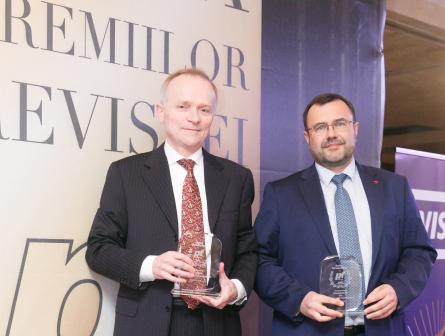 """Premiul """"Bancherul anului"""" 2017, câştigat de Francois Bloch şi Didier Colin"""